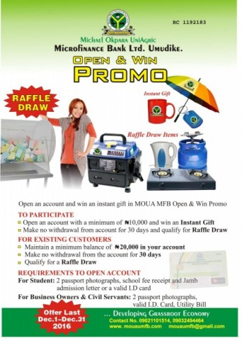 2016 Open and Win Promo
